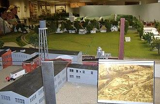 John Hay Center - Image: Hay Depot Museum panorama