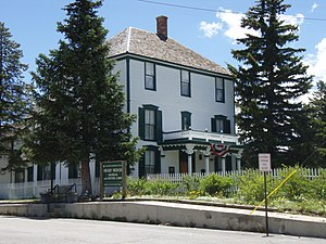 National Register of Historic Places listings in Lake County, Colorado - Image: Healy House