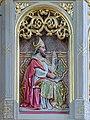 Heilige Ambrosius Relief Pfarrkirche St. Ulrich in Gröden.jpg