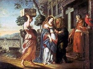 Meine Seel erhebt den Herren, BWV 10 - Heimsuchung, topic of the cantata, Rubens school, Unionskirche, Idstein