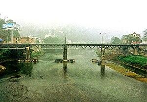 Hekou Yao Autonomous County - The Hekou–Lào Cai bridge