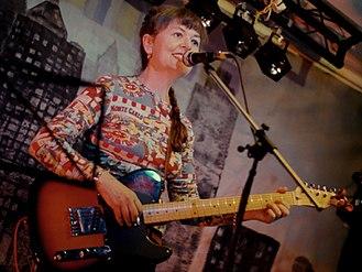 Helen McCookerybook - Helen McCookerybook performing at Celebrating Sisterhood! at The Verge at The Cheshire Ring, Hyde, 2012