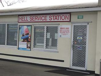 Hell, Grand Cayman - Hell's Service Station, Hell, Grand Cayman island