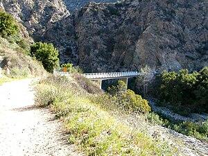 Eaton Canyon - Mt. Wilson Toll Road trail head