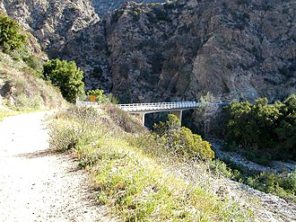 Eaton Canyon - Mt. Wilson Toll Road trail head