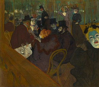 At the Moulin Rouge - Image: Henri de Toulouse Lautrec At the Moulin Rouge Google Art Project
