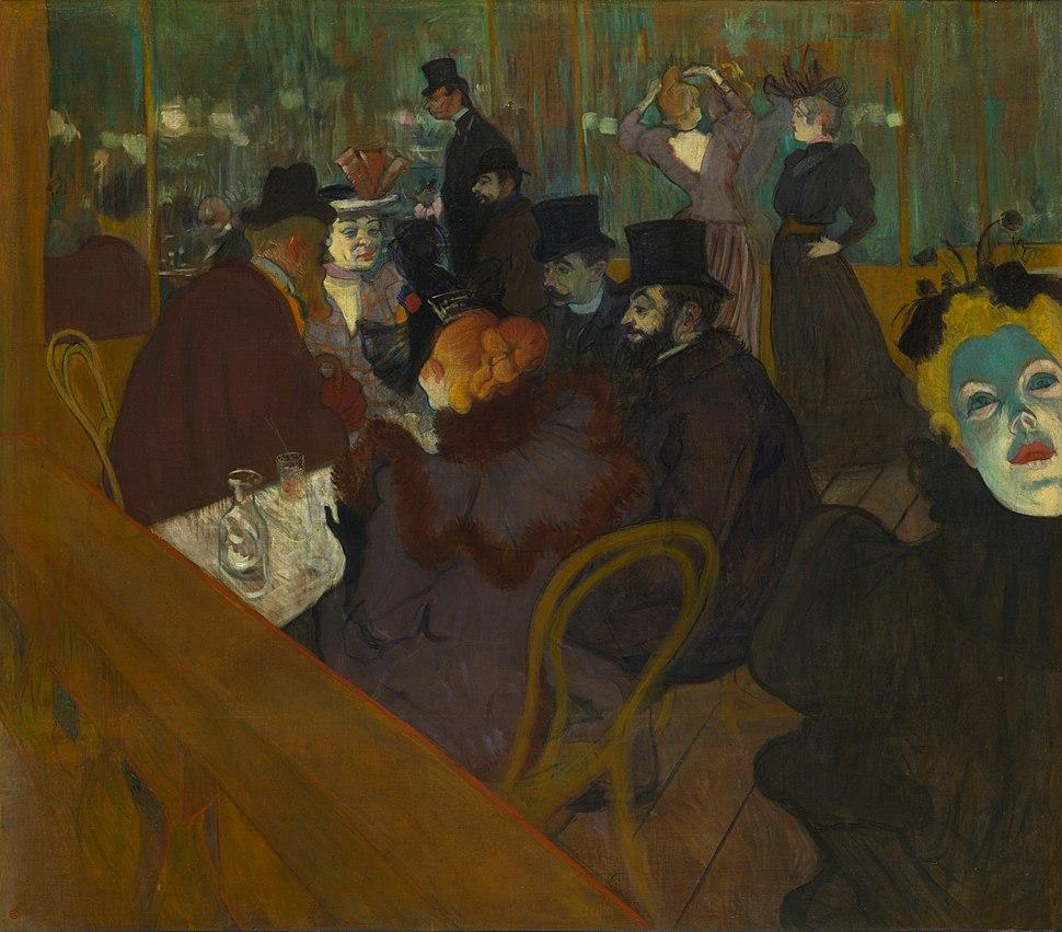 Henri de Toulouse-Lautrec - At the Moulin Rouge - Google Art Project