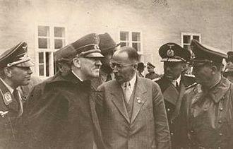 Henrich Focke - Henrich Focke with Hitler