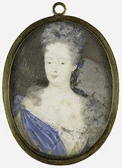 Portrait of Henriette Amalia van Anhalt-Dessau (1666-1726), wife of Hendrik Casimir II, ruler of Nassau-Dietz