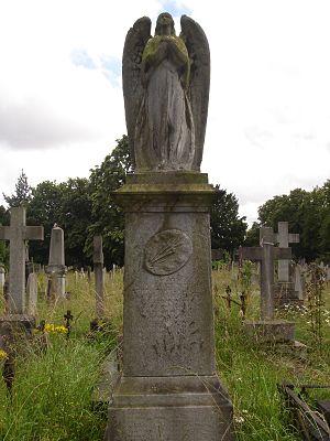 Henry Farrer - Funerary monument of Henry Farrer in Brompton Cemetery, London