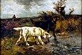 Henry Schouten Jäger mit zwei Jagdhunden.jpg