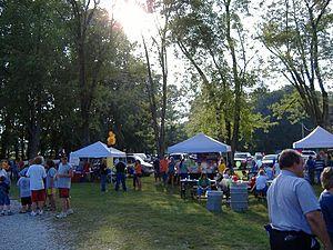Henryville, Indiana - Festival in Henryville, 2006