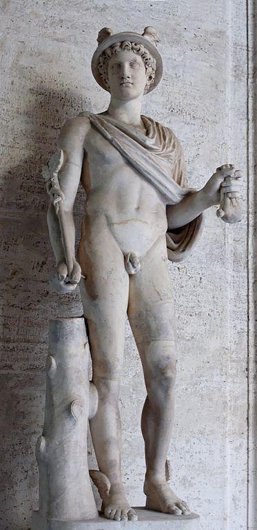 Hermes, gudarnas budbärare, har möjligen lånat sitt namn till hermeneutiken.