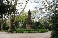 Herne - Am Böckenbusch - Stadtgarten Wanne-Eickel - Kaiserbrunnen 01 ies.jpg
