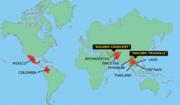 Bild Opium-/Heroinanbauregionen