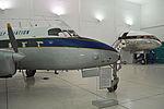 Heron and Comet nose. Al Mahatta Aviation Museum, Sharjah (21815557959).jpg