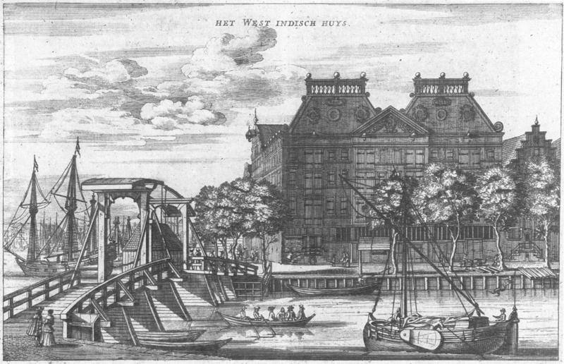 Het West Indisch Huys - Amsterdam 1655
