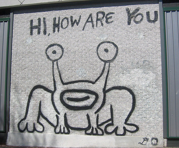 File hi how are you austin wikimedia commons for Daniel johnston mural austin