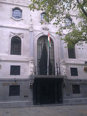 India House, London - Image: High Commission of India in London 1