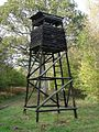 High Seat for Deer Shooting and Watching in Farnham Woods - geograph.org.uk - 269195.jpg