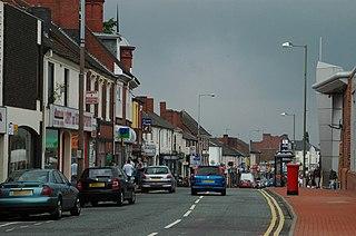 Cradley Heath Human settlement in England