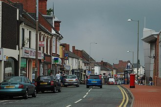 Cradley Heath - Image: High Street, Cradley Heath geograph.org.uk 1376016