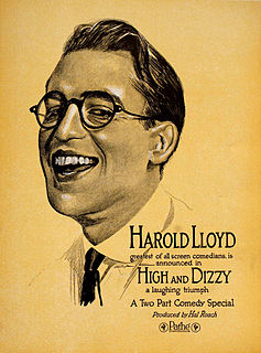 <i>High and Dizzy</i> 1920 film by Hal Roach