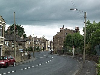 Idle, West Yorkshire - Image: Highfield Road, Idle geograph.org.uk 24285