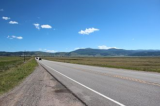 South Park (Park County, Colorado) - U.S. Highway 285 in South Park