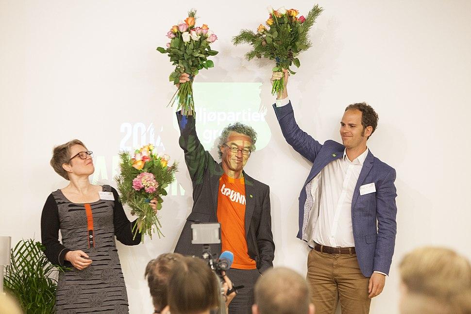 Hilde Opoku, Rasmus Hansson og Lars Gaupset