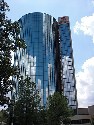 East Memphis, Memphis, Tennessee - Image: Hilton Memphis, TN