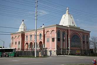 Indo-Canadians - The Hindu Heritage Centre is located in Mississauga.