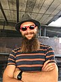 Hipster, Newtown, hipster beard, retro watch, colourful glasses.jpg