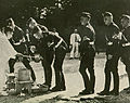 Hitlerjugend visit to Meiji Shrine purification queue 1938.jpg