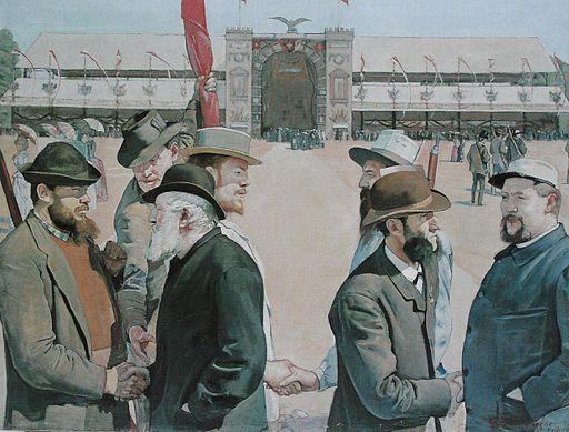 Hodler Le grütli moderne 1887