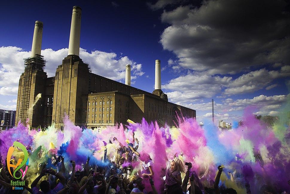 Holi Festival Of Colorus London
