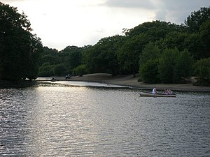 Whipps Cross - The Hollow Pond on Leyton Flats
