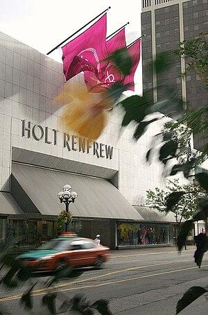 Mink Mile - Holt Renfrew's flagship store on Bloor Street