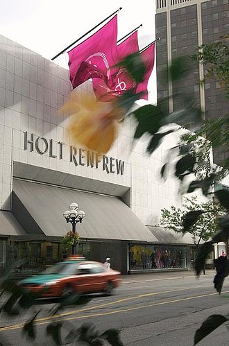Mink Mile - Holt Renfrew's flagship store on Bloor Street