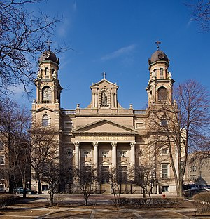 Polish Cathedral style - Holy Trinity Church, Chicago, Illinois