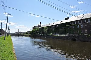 Holyoke Canal System - The Second Level Canal