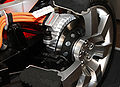 Honda FCX rear in-wheel motor Honda Collection Hall.jpg