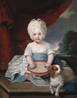 Princess Amelia of the United Kingdom - Princess Amelia in 1785
