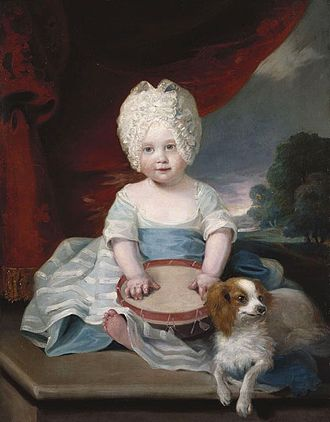 Princess Amelia of the United Kingdom - Princess Amelia in 1785