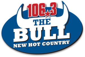 KBBL (FM) - Image: Hot Country 106.3 The Bull