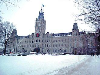 Quebec Legislature - Image: Hotel du Parlement du Quebec 04