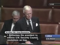 File:House Session October 8 2002 The House of Representatives debated the use of military force with Iraq.webm