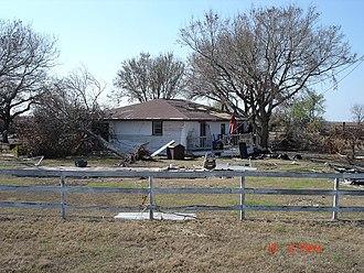 Johnson Bayou, Louisiana - Image: House in Johnson Bayou, Louisiana destroyed by Hurricane Katrina