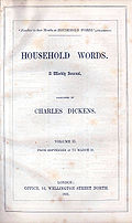 Cover of Household Words