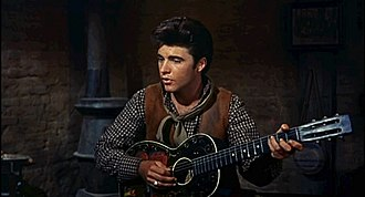 """Rio Bravo (film) - Ricky Nelson performing the song """"Get Along Home, Cindy"""" in Rio Bravo"""
